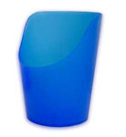 More detail onCut-Out Cup (blue)