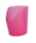 More detail onCut-Out Cup (pink)