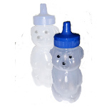 More detail onHoney Bear w/Flex Straw (Small) - TalkTools
